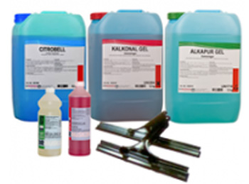 Prodajni program, Čistila in Pripomočki za čiščenje